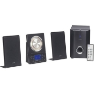 Teac MC-DX20B 45-Watt Tabletop or Wall-Mountable CD System with AM/FM Stereo and Subwoofer