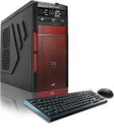 CybertronPC Hellion GM1213D Desktop (Black/Red)