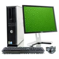 """Dell OptiPlex 745 Desktop Computer w/ Intel Pentium D 2.80 GHz, 1 GB RAM , 80 GB HDD, Combo Drive, Genuine Windows XP Pro + 17"""" LCD Screen"""