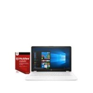HP AMD A10, 4Gb RAM, 128Gb SSD, 15.6 inch Full HD Laptop with Optional Microsoft Office 365 Home - White