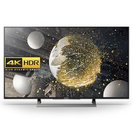 "Sony Bravia 49XD8077/8099 LED HDR 4K Ultra HD Android TV, 49"" With Youview/Freeview HD & Silver Slate Design"