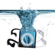 Underwater Audio Waterproof iPod Mega Bundle (Blue)