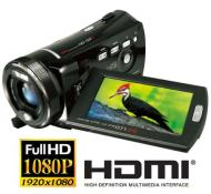"Full HD 1080P H.264 Flash Memory Camcorder HD50Z with 3"" 16:9 Touch Screen LCD"