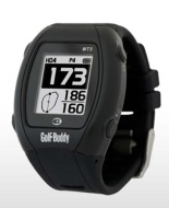 GolfBuddy GB-WT3 Golf GPS/Range Finder Watch, Black