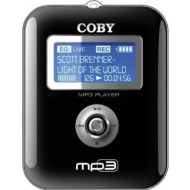 COBY MP-C741 MP3 Player w/256 MB Flash Memory & FM Radio