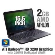 "eMachines Eme627-5082 15.6""notebook -AMD Athlon64 TF-20,2GB DDR2-667,160GB Hard Drive, Microsoft Windows 7 Home Premium (64-bit)"