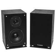 Fluance - 2-Way 100 W Speaker - Black Ash Vinyl Veneer Woodgrain