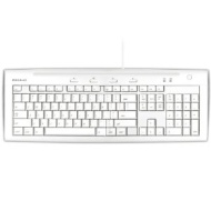 Macally iKeyslim Hi-Speed USB 2.0 Slim Keyboard with Two USB Ports