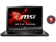 "MSI Gaming GL62 6QF-628 2.3GHz i5-6300HQ 15.6"" 1920 x 1080pixels Noir notebook"