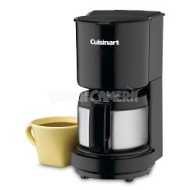 Cuisinart DCC-450 4-Cup Coffeemaker with Stainless-Steel Carafe - Factory Refurbished
