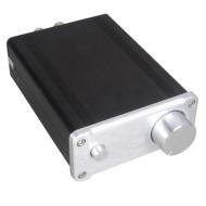 SMSL SA-50 50W*2 Classe T Amp Intégré Tripath TDA7492 Amplificateur stéréo numérique Hi-Fi ARGENTE+ adaptateur secteur(EU)