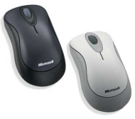 Microsoft Standard Wireless Optical Mouse - Mouse - optical - 3 button(s) - wireless - RF - USB wireless receiver
