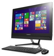Lenovo C40 21.5-Inch HD All-in-One Desktop PC (Intel Core i3-4005U 1.7 GHz, 8 GB RAM, 1 TB HDD, DVD-RW, WLAN, Bluetooth, Camera, Integrated Graphics)