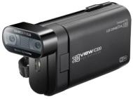 "LG DXG IC330 - Videocámara Full HD 1080p (5 Mp, 440 g, pantalla de 3.2"", zoom óptico 10x), negro (importado)"