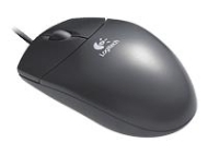 Logitech Wheel Mouse Optical B69 schwarz OEM