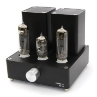 APPJ PA0901A EL84+12AX7 Mini tube Amplifier ( Original miniwatt N3 ) Black
