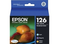 Epson Ink Cartridge, 480 Page Yield, Assorted, Sold as 1 Package, EPST126520