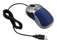 Fellowes 98905 Silver/Blue 5 Buttons 1 x Wheel USB Wired Optical HD Precision Mouse - Retail