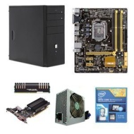 Intel® Core™ i3-4330 CPU/Asus Intel B85M-G mATX MB/8GB Patriot Viper Xtreme Memory/ENYLE E-Series ATX Mid Tower Case w/500W PSU Bundle BX80646I34330
