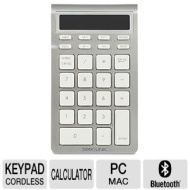 Smk-link Vp6273 Silver/white Bluetooth Wireless Mini Calculator Keypad