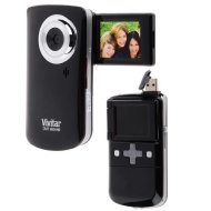 Vivitar Flip Out Screen DVR Camcorder Camera Kit: Shoot HD Photos and Videos