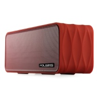 Polaris V8 Portable Bluetooth Wireless Speaker with FM-Radio, NFC, AUX Jack, TF Card Slot, Voice Prompts, LED Display, Build-in HQ MIC for Hands Free