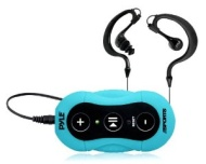 Pyle Surf Sound Water Proof MP3 Player with Headphones - Blue