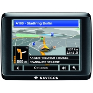 Navigon 1400 DACH - GPS receiver - automotive
