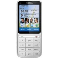 Nokia C3 Touch and Type Silver