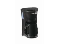 Toastess Black Space Saving Single Cup Coffee Maker