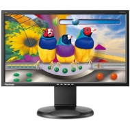 ViewSonic VG2028WM 20-Inch Ergonomic Widescreen Monitor with 1600x900 Resolution - Black