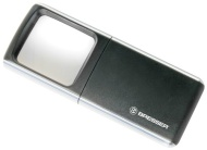 Bresser Optics 6919000 3x Schwarz, Silber Vergrößerungsglas