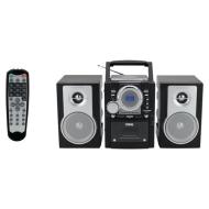 Naxa NPB-425 Portable MP3/CD Player with AM/FM Stereo Radio Cassette Player/Recorder, Twin Detachabl