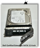 "Dell Certified 1TB Enterprise SATA 3.5"" Hard Drive for Poweredge R710, R720, R410, R415, R510, R320, R420, R520, W/ Caddy"