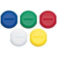 Shure Color ID Cap Rings for BLX2 Handheld Transmitters