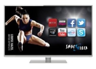 Panasonic TX-L42DT50B 42-inch Widescreen Full HD 1080p 3D LED TV with Freeview HD, Freesat HD and Smart VIERA - Silver