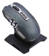 Perixx MX-800B, Programmabile Gaming Mouse Ottico - 5 Pulsante - Omron Microinterruttori - Ultra Polling 1000Hz - Nero