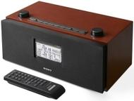 Sony XDR-S3HD - HD / AM / FM clock radio - cherrywood