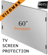 60 inch Vizomax TV Screen Protector for LCD, LED & Plasma HDTV