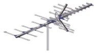 AntennaCraft HBU33 85 Boom HBU Series Antenna for UHF and High-Band VHF - 70 to 60 Mile Range