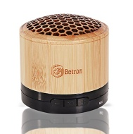 Bluetooth Portable Travel Speaker For Iphone 6, 5s, 5c, iPod, iPad , Android Phones and MP3 Players (Natural Wood 2)