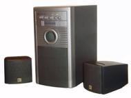 850 Watt 3 PC amplified Subwoofer 2.1 Computer Speakers