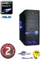 Ankermann PC GAMER AMD965 Wildcat (4x3, 40GHz) | ASUS GeForce GTX 650Ti 1GB | 8GB DDR3 1600MHz RAM | 2,0 TB HDD SATA3 | Card Reader 52in1