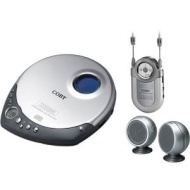 COBY CX-CD1234 - CD player with radio