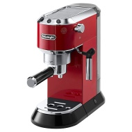 De'Longhi EC680 Dedica Pump Espresso Coffee Machine, Red