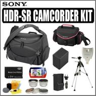 Deluxe Accessory Kit for the Sony Handycam Camcorder HDRSR10, HDRSR11, and HDRSR12