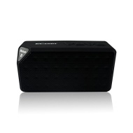 Ecandy Ultra-Portable Wireless Bluetooth Speaker,Powerful Sound with build in Microphone, Compatible with Iphone, Ipad Mini, Ipad 4/3/2, Itouch, Black