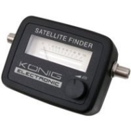 Konig Satellite Finder Signal Meter With Patch Lead