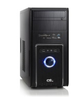 Silent office PC! CSL Speed Speed 4200uW8 (Dual) incl. Windows 8.1 - computer system with Intel Pentium G3420 2x 3200 MHz, 500GB HDD, 4GB DDR3 RAM, In