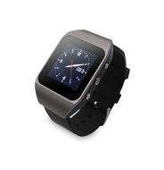 AGPTek 8GB 1.4 Zoll Touchscreen Bluetooth MP3-Player Uhr SmartWatch mit Bluetooth unterstützt 32GB TF Karte